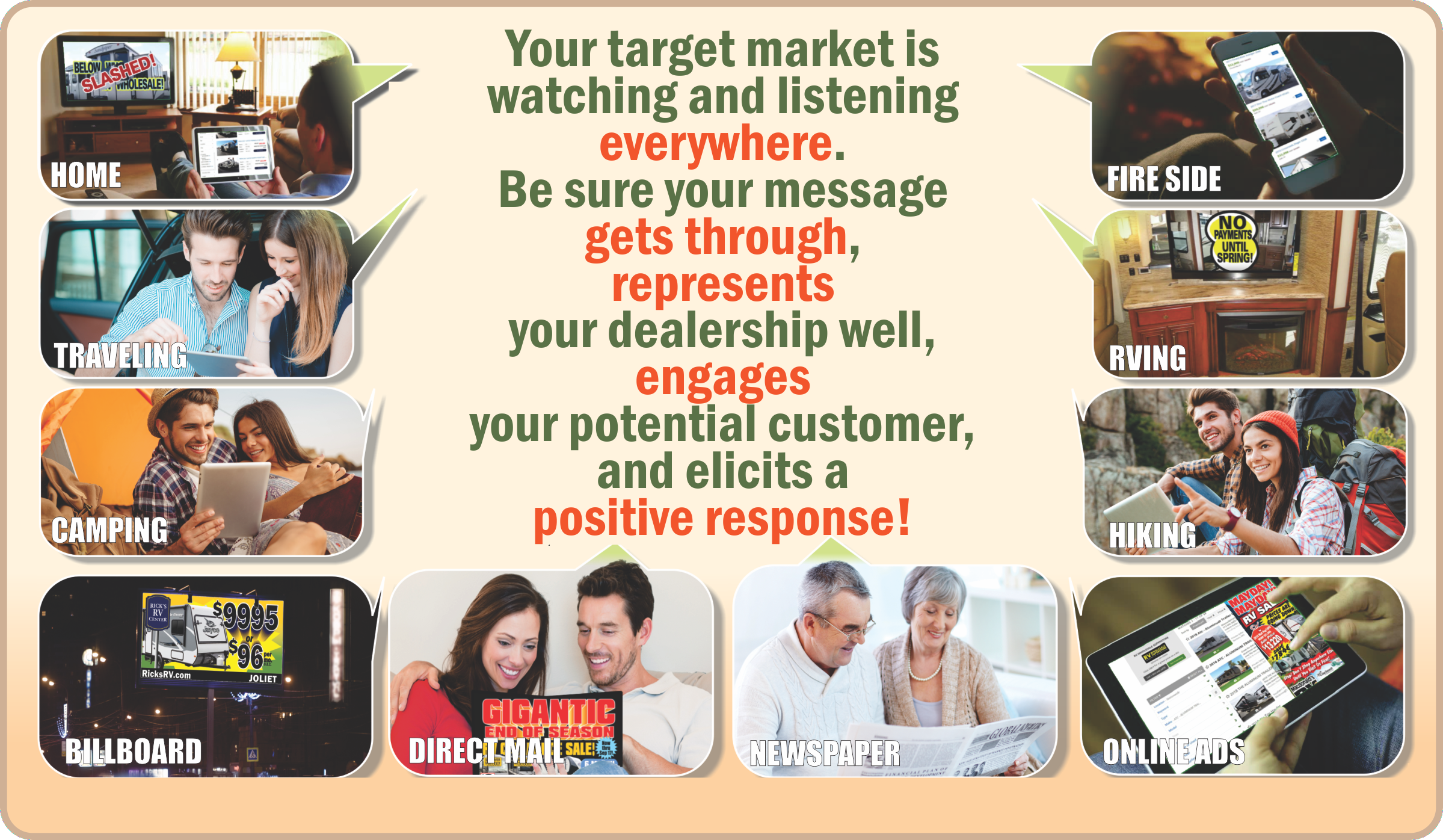 Integrated Marketing Communications - Your target is everywhere